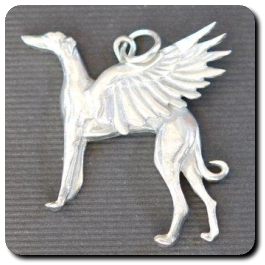 Angel Hound Pendant