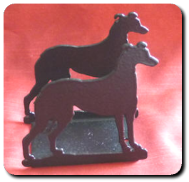 Greyhound Letter Rack