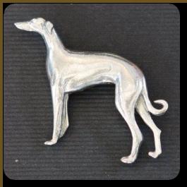 Standing Greyhound Pendant
